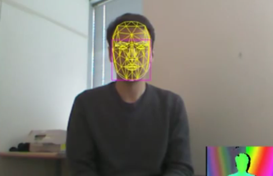 Microsoft Released Face Tracking SDK in Kinect for Windows